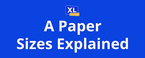 A Paper Sizes Explained