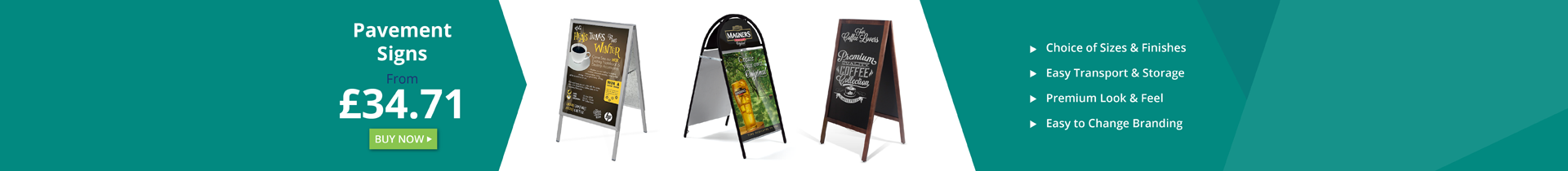 Pavement Signs and Shop Sign Boards