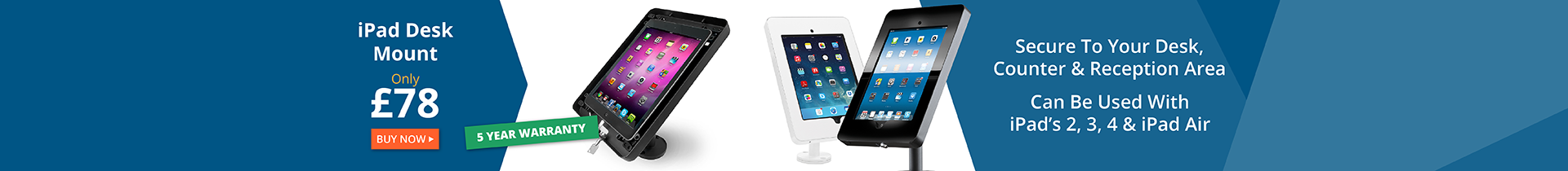 iPad and Tablet Desk Mounts