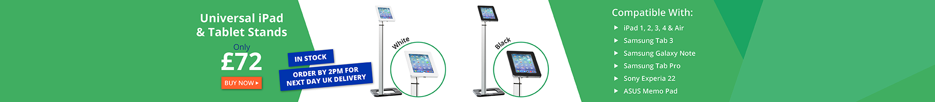 iPad and Tablet Floor Stands
