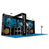 Linear Vector Exhibition Stands