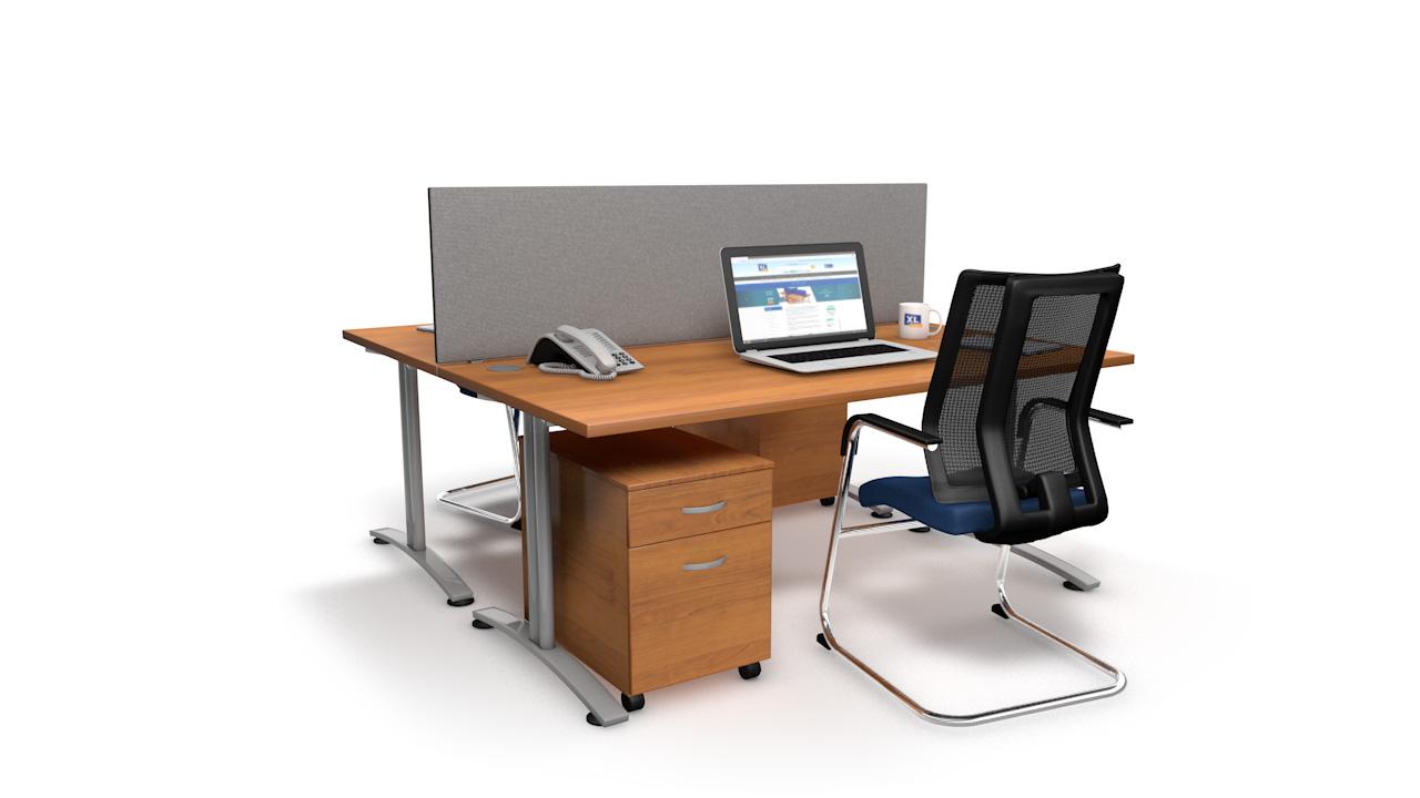 Standard Acoustic Straight Office Desktop Screen