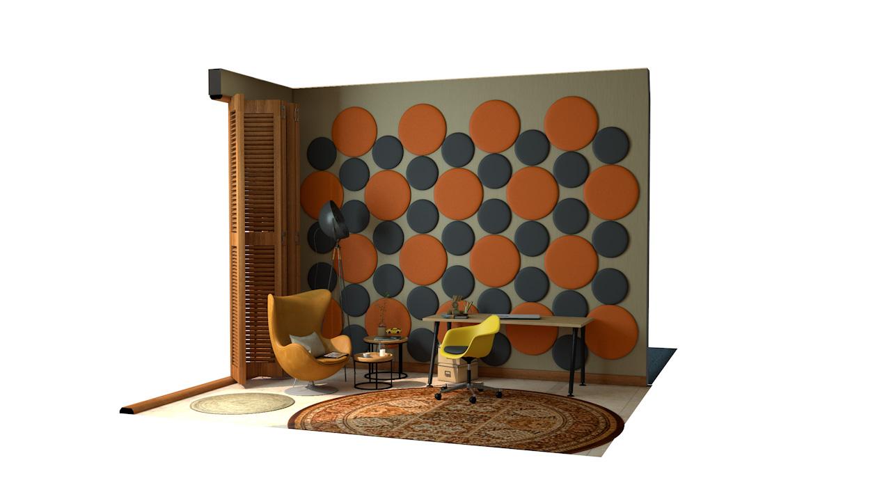 CARRERA<sup>™</sup> Circular Acoustic Wall Panels