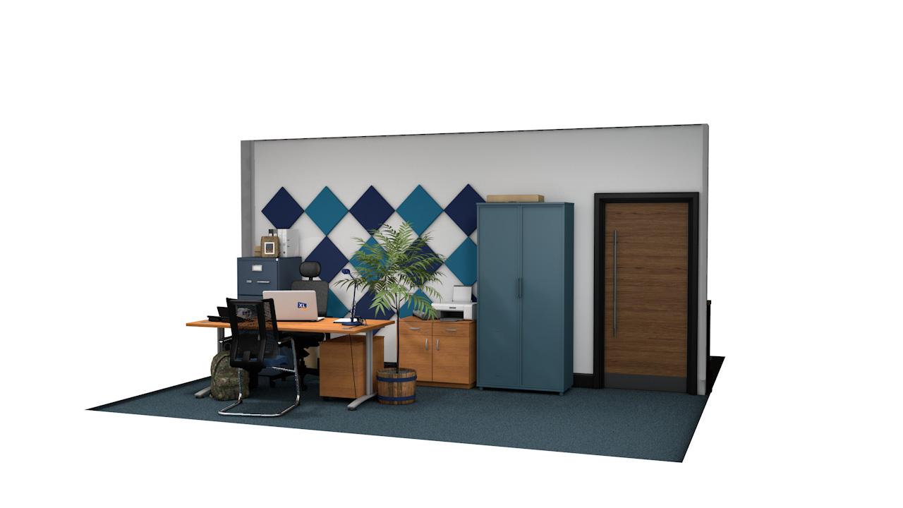 QUADRUM<sup>™</sup> Square Acoustic Panels For Walls