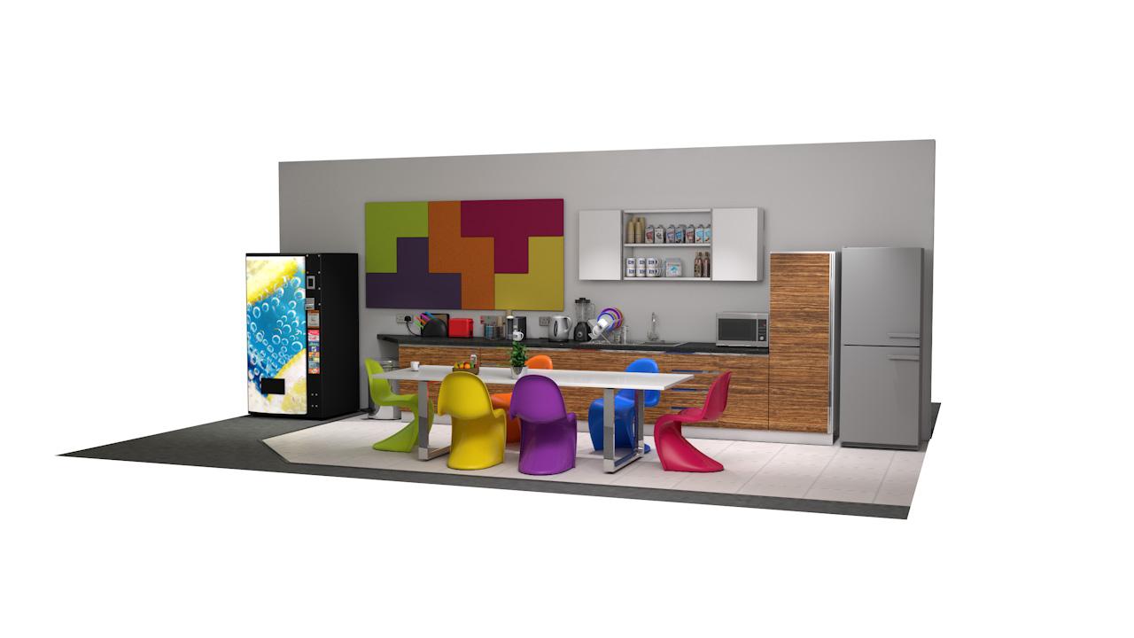 TETRATAK<sup>™</sup> Interlocking Acoustic Soundproofing Wall Tile Panels