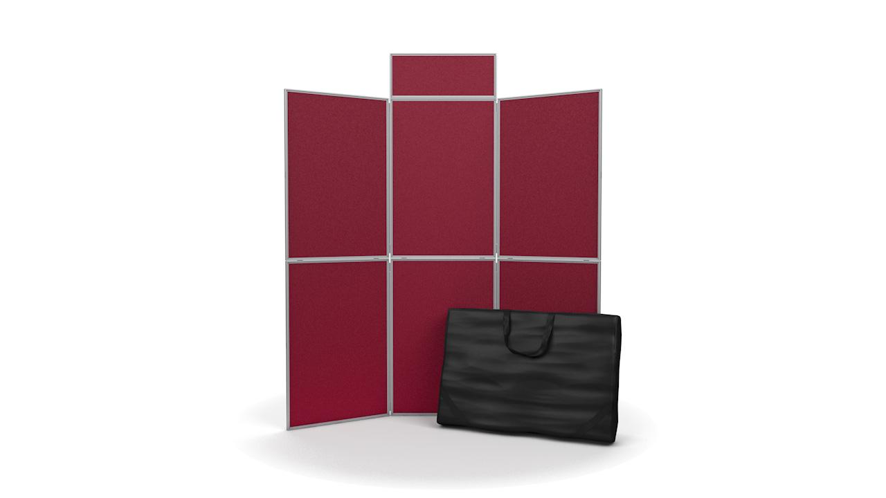 6 Panel Pinnable Folding Display Board Kit