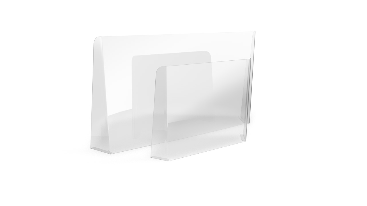 CLARITY PLUS Perspex Sneeze Screen