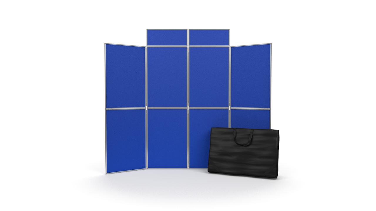 Aluminium Frame 8 Panel Display Board Kit