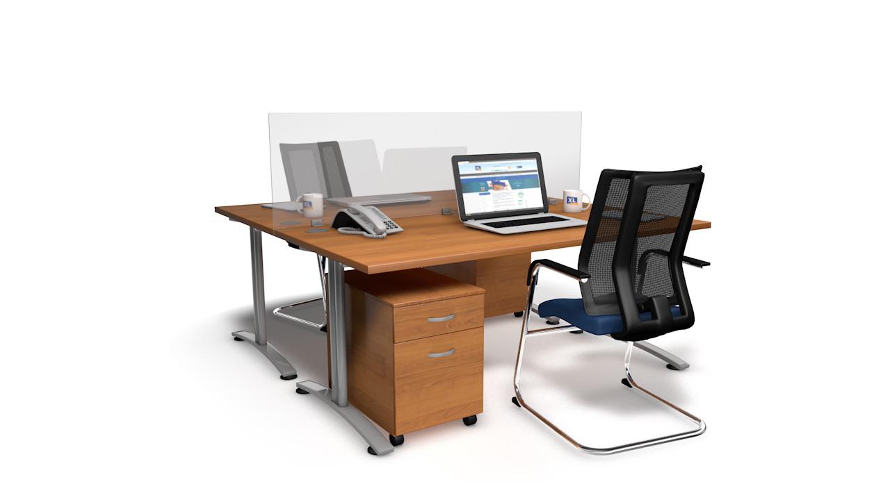 Perspex Desk Dividers