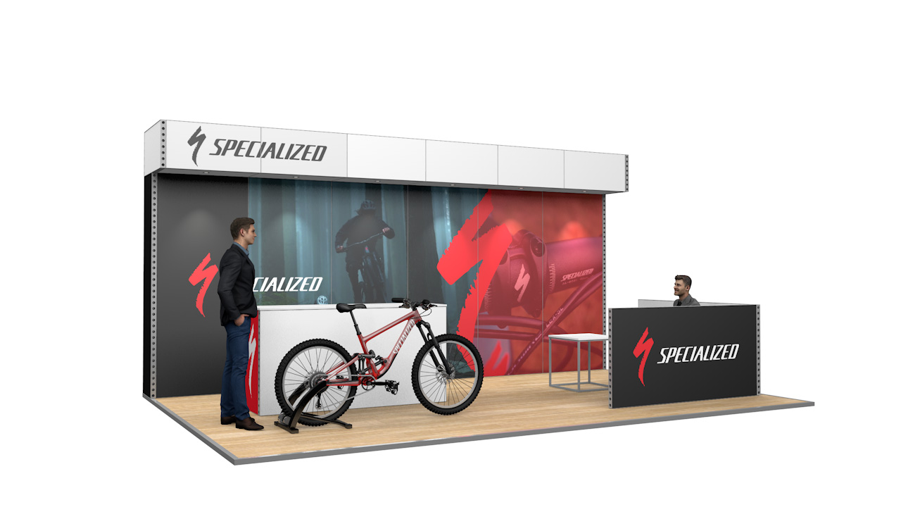 Integra<sup>®</sup> Exhibition Stand 6m x 4m Backdrop Kit 25 - To Hire