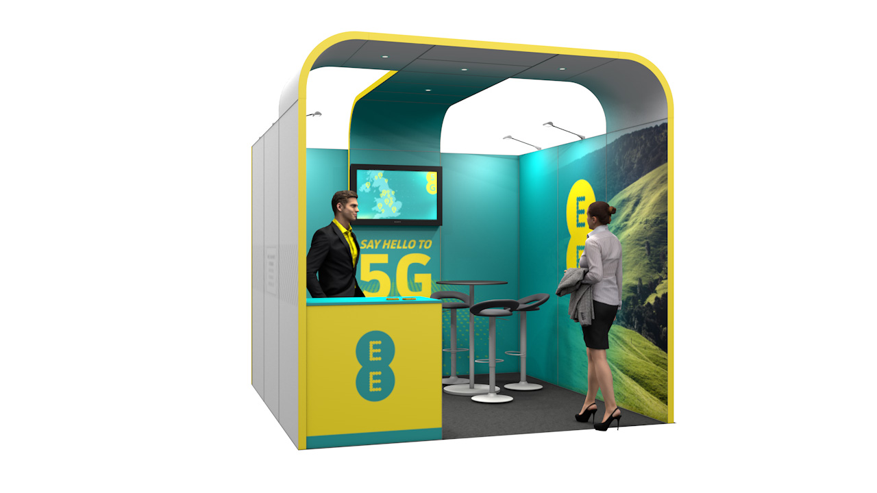 Integra<sup>®</sup> Exhibition Stand 3m x 3m Booth Kit 8 - To Hire
