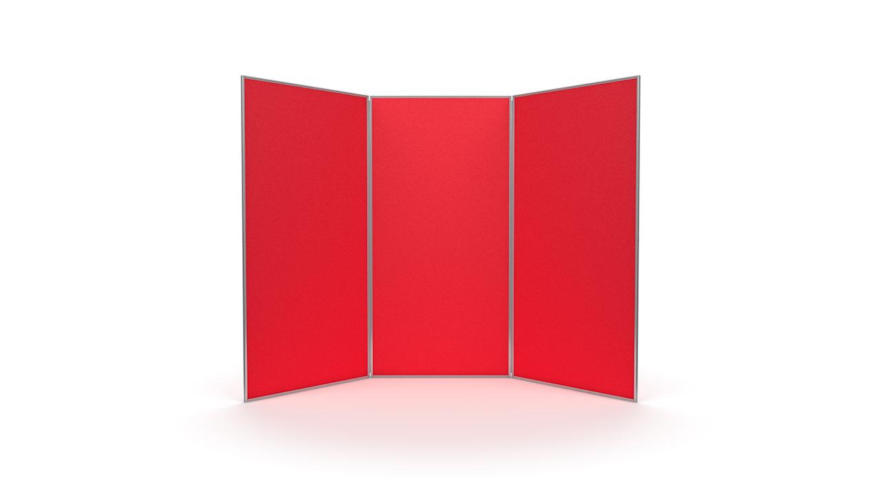 Aluminium Frame 3 Panel Jumbo Display Board