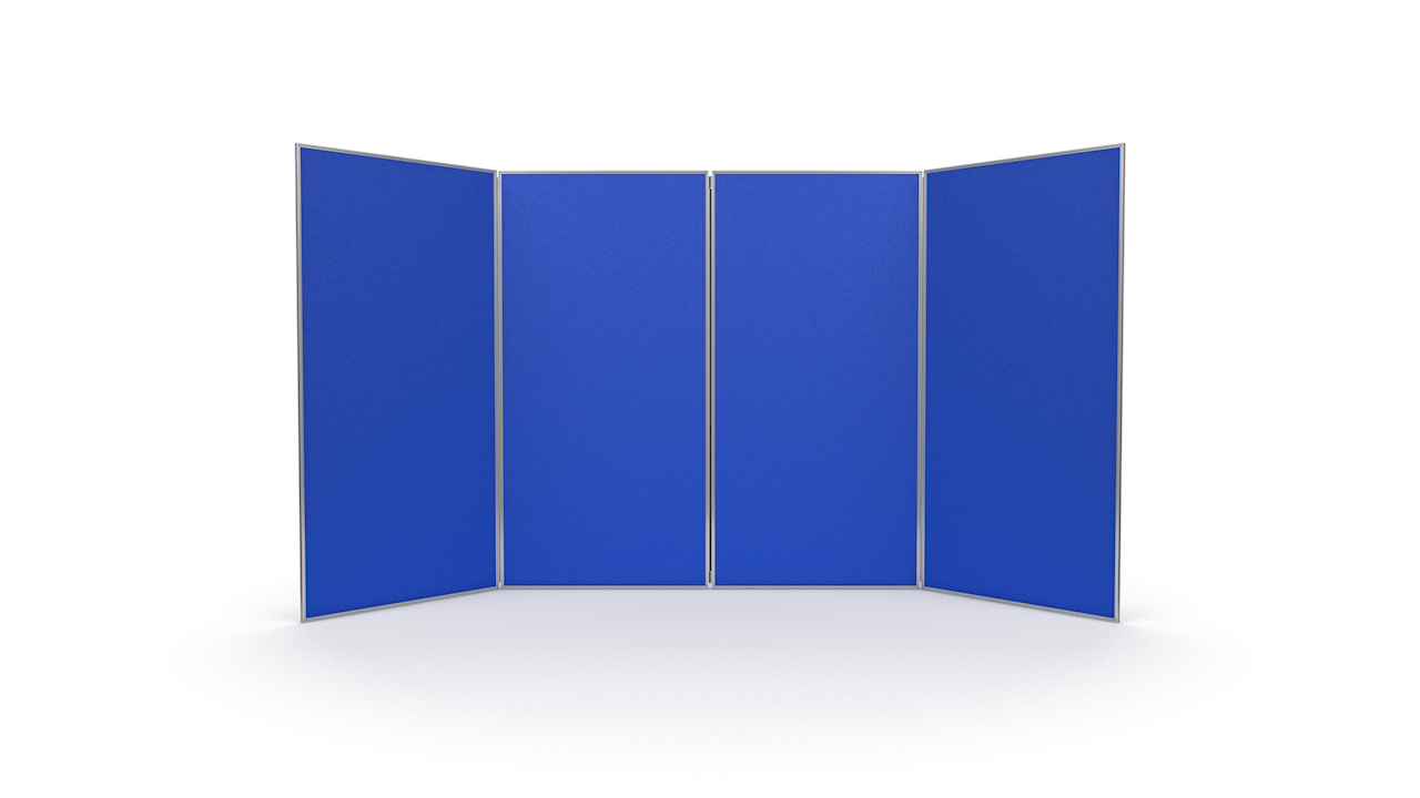 Aluminium Frame 4 Panel Jumbo Display Board