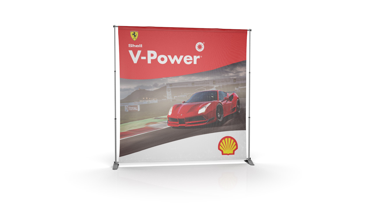 Pegasus Fabric Tension Banner Stand