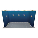 Twist U-Shaped Exhibition Stand 4m x 2m