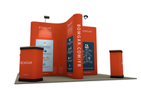 Pop Up Display Island 4m x 4m
