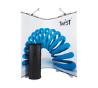 Twist 3 Panel Flexible Display Stand