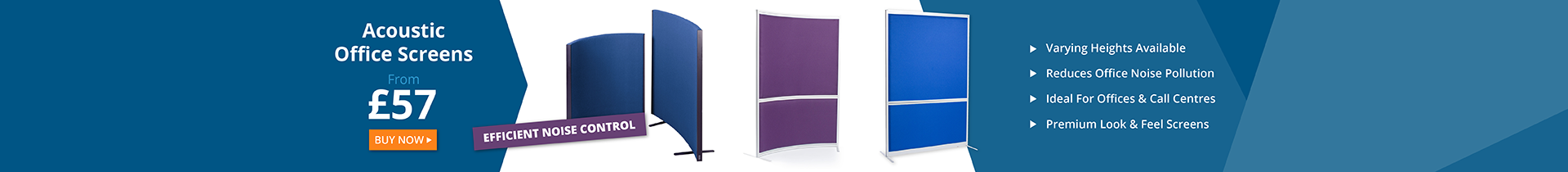 Acoustic Office Screens and Partitions