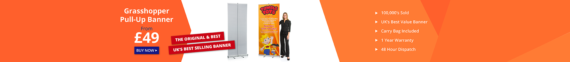 Pull Up Banners and Roller Banners UK
