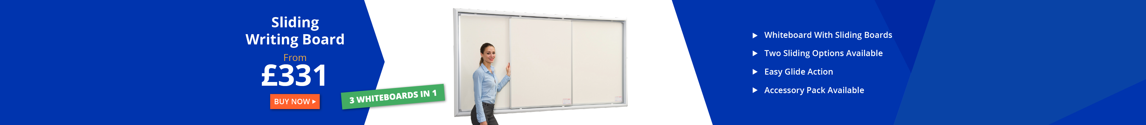 Sliding Writing Board Whiteboards Wall Mounted