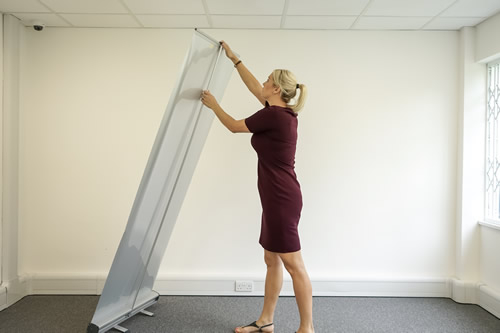 How To Assemble a Roller Banner