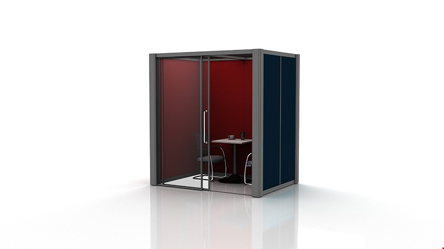 2m x 1.5m Acoustic Meeting Pods