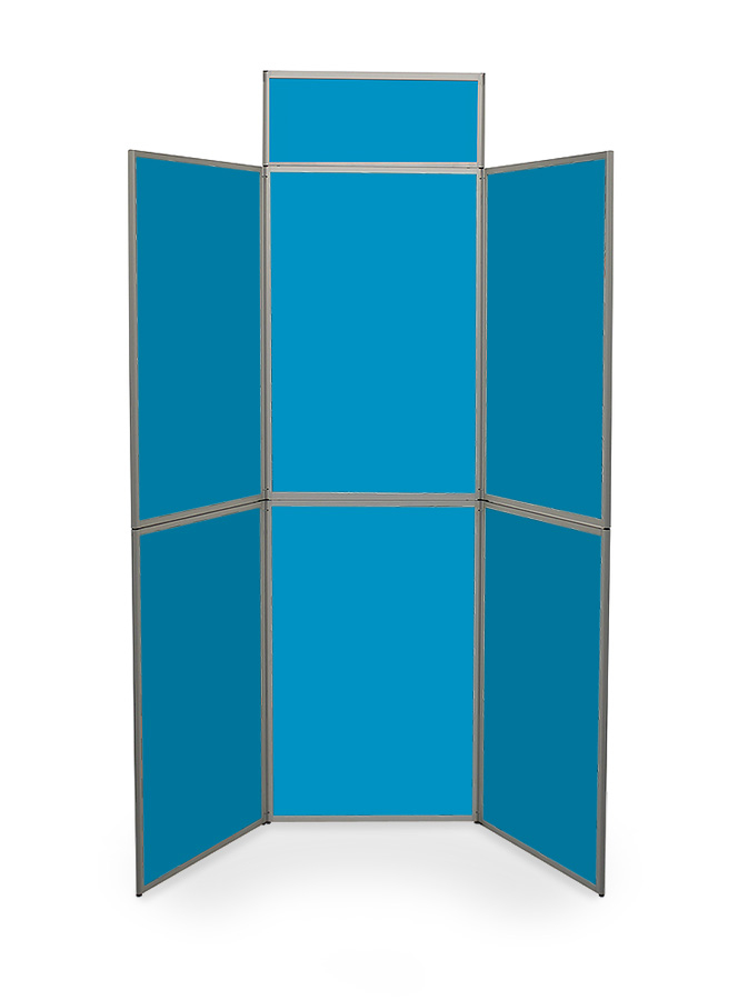 Heavy Duty Fabric 6 Panel Display Boards