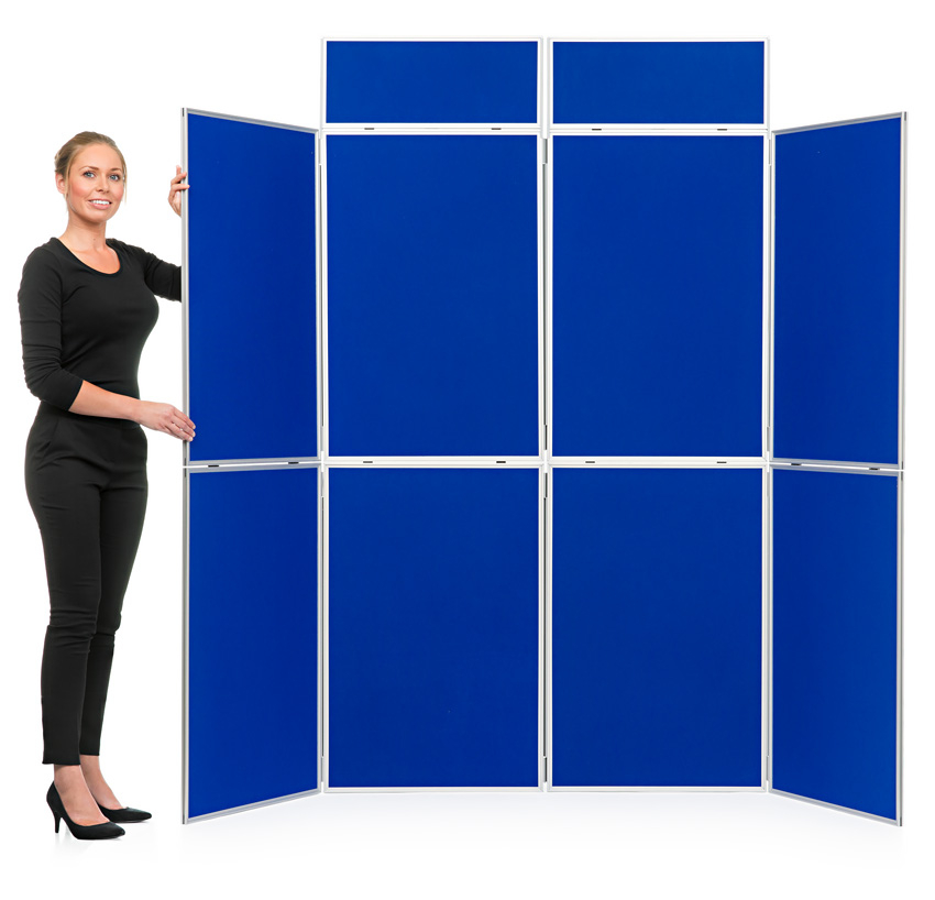 Aluminium Frame 8 Panel Display Board Kit