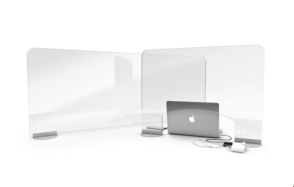 ACHOO Crystal Clear Desk Protective Screen