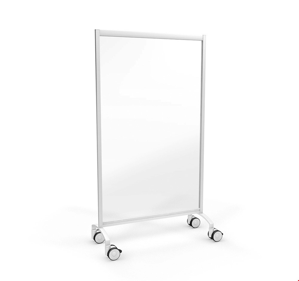 ACHOO<sup>®</sup> Portable Perspex Protection Screen On Wheels