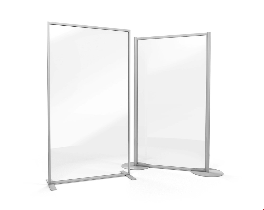 ACHOO® Crystal Clear Free Standing Protective Screen