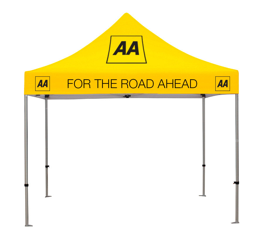 Branded Gazebo with Printed Canopy
