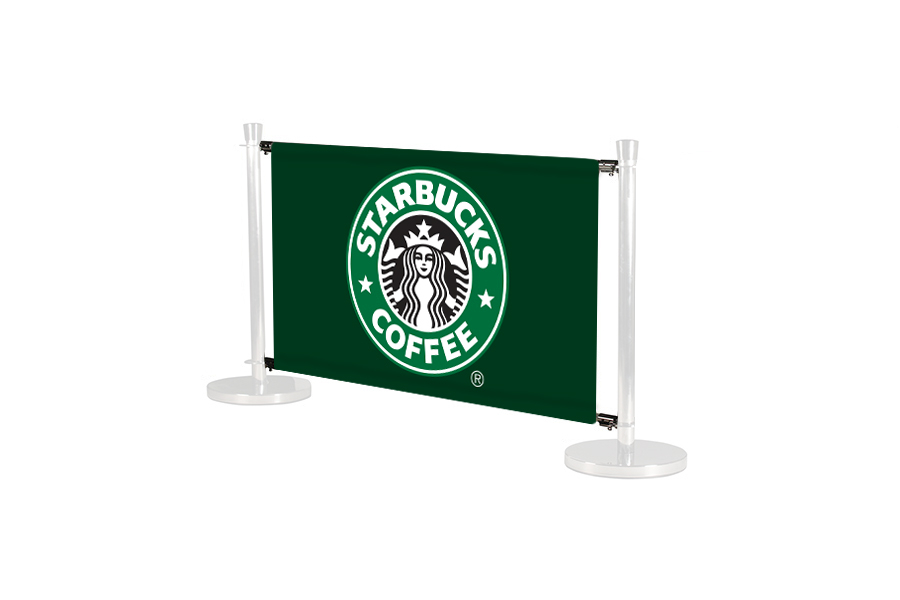Cafe Barrier System Deluxe Banner