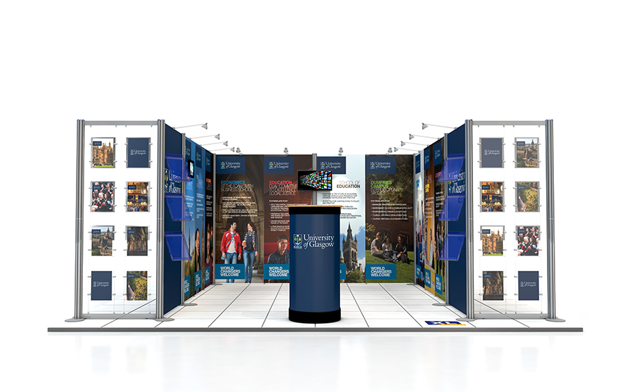 4m x 5m U-Shape Centro Exhibition Stand
