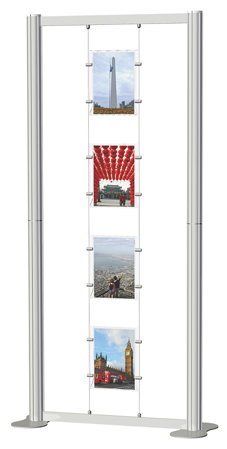 Centro Freestanding Poster Display Kit 1