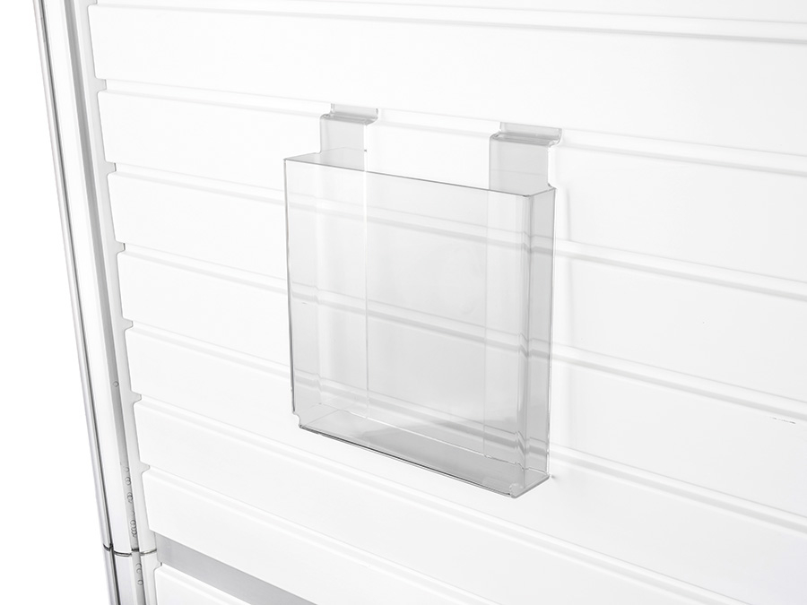 Centro Slatwall Display Leaflet Holder