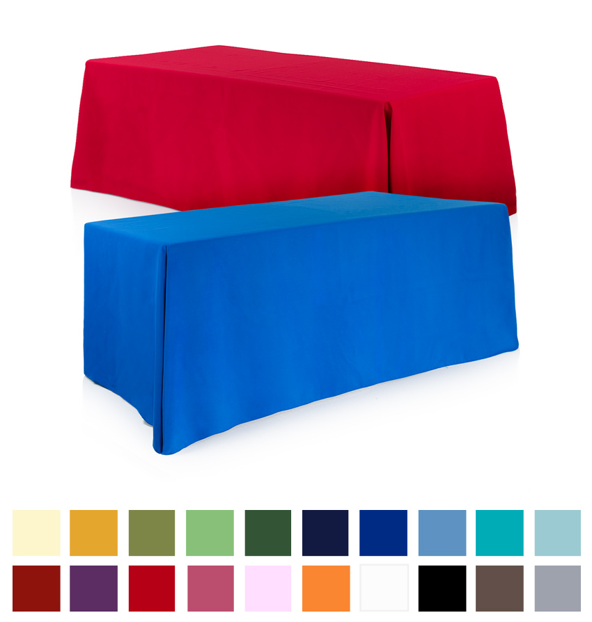 Conference Tablecloths 6ft Plain Colour