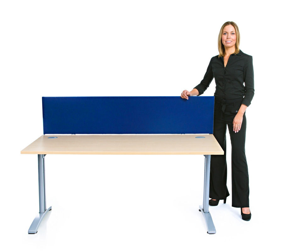 Speedy Office Desk Screens Blue