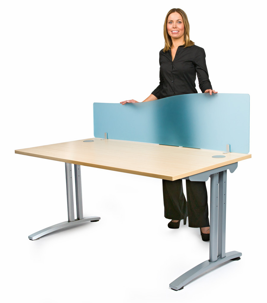 Smarty Acrylic Wave Office Desk Screen
