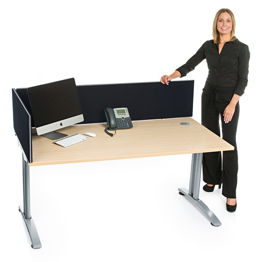 Standard Acoustic Straight Office Desktop Screen