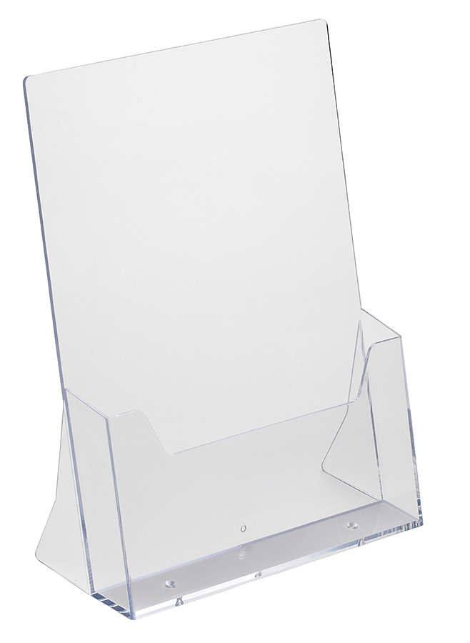 Desktop Acrylic Leaflet Holder