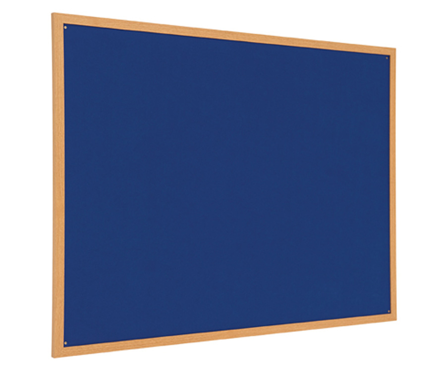 Eco Friendly Wood Effect Framed Noticeboard