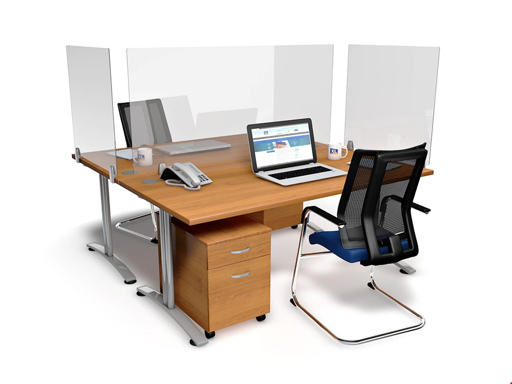 EASYFIT Perspex Office Desk Screen