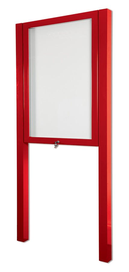 External Notice Boards Freestanding Lockable Outside Notice Boards