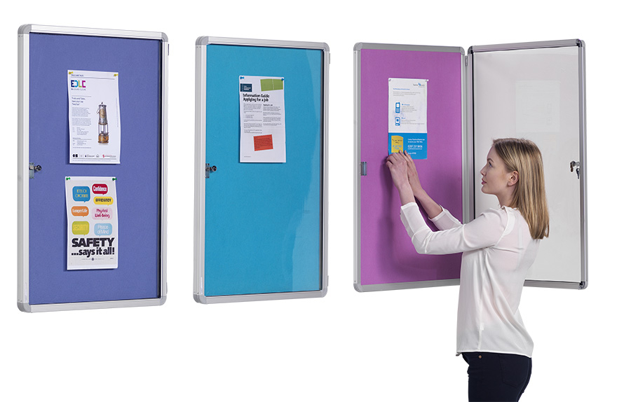 Flameshield Tamperproof Fire Retardant Noticeboards