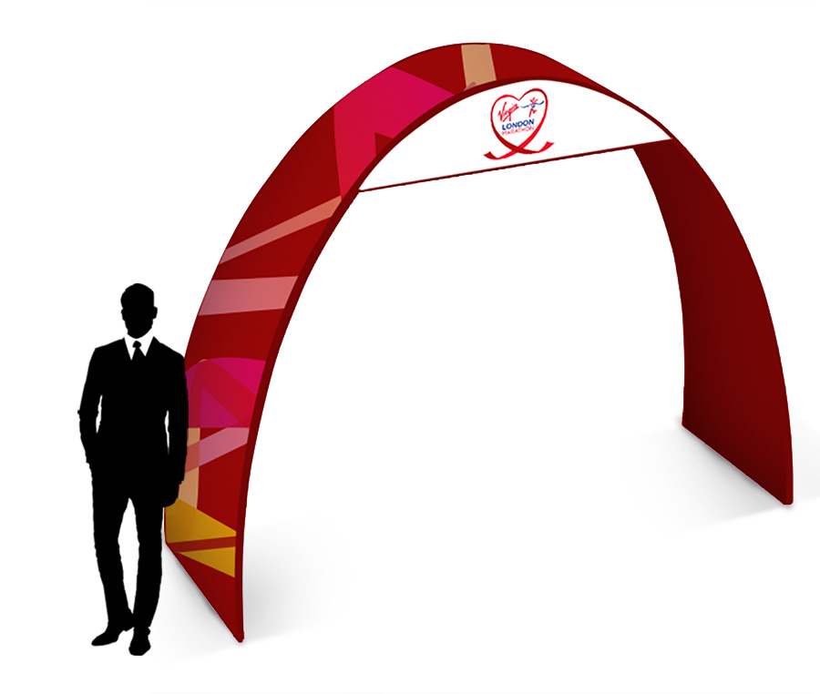 Formulate 2.7m Printed Fabric Exhibition Arch