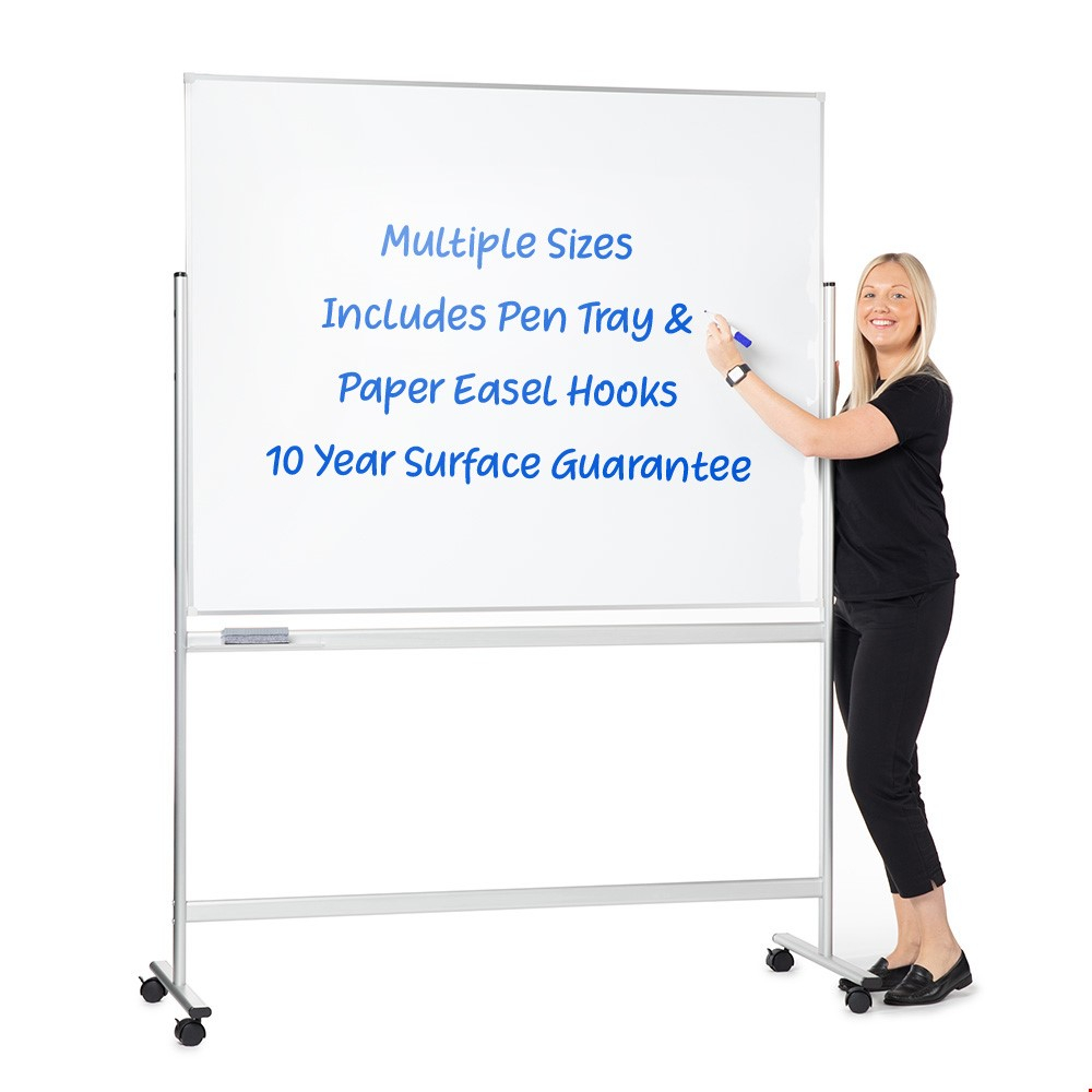 Free Standing Magnetic Mobile Whiteboards