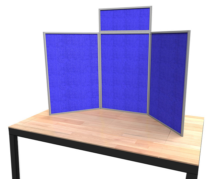 Heavy Duty Senior Tabletop Display Board