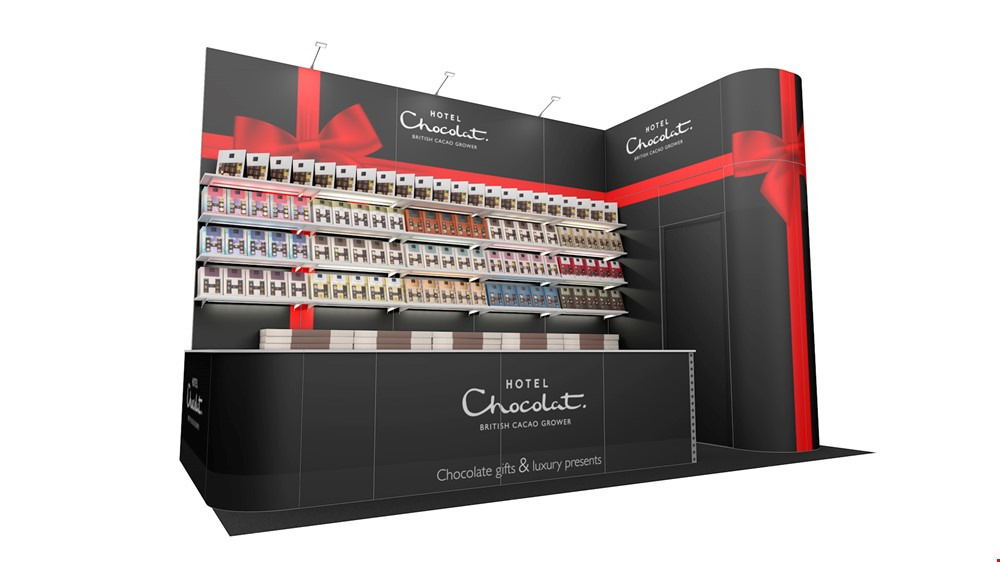 Integra<sup>®</sup> Exhibition Stand 6m x 3m Corner Kit 23 - To Hire