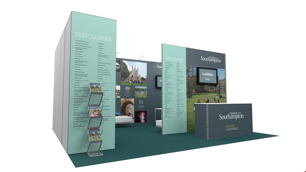 Integra<sup>®</sup> Exhibition Stand 6m x 5m Booth Kit 28 - To Hire
